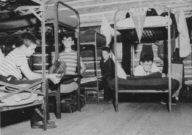 Campers in Bunks